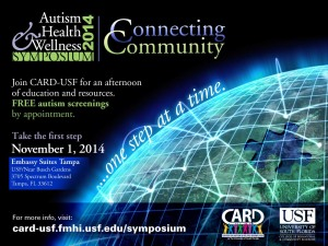 2014 CARD's Autism Health and Wellness Symposium Save the Date